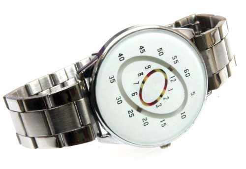 Get harder near-future design watches look like no! CWWT2zero UFO saucers feature unique fashion watch mystery dial (White Dial)
