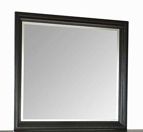 Distressed Black Dresser front-937027