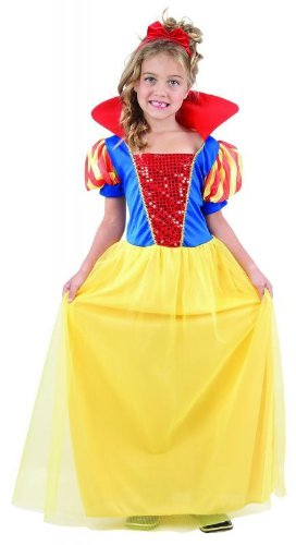 pams-girls-snow-white-princess-fancy-dress-costume-small-4-5-6-yrs