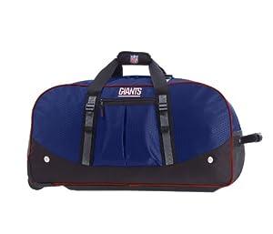New York Giants Rolling Duffel Bag