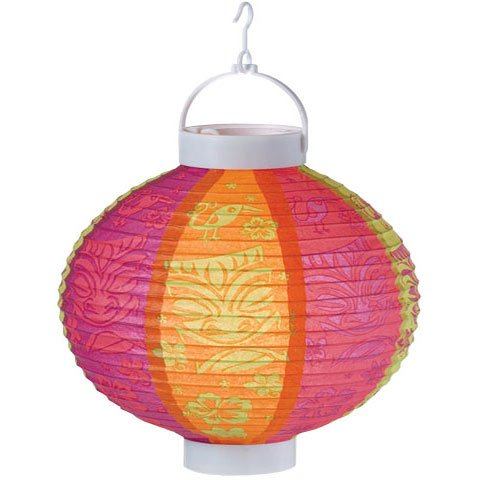 Light-Up Luau Lantern