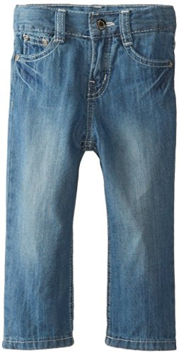 Lee Baby Boys Lee Slim Straight Jean, Bleach Blue, 24 Months