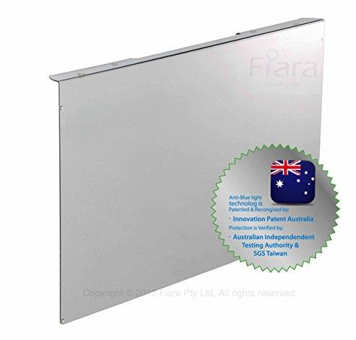 Fiara anti-luce blu filtro schermo - 55,88 cm pollici (si adatta alla maggior parte delle 55,88 cm LED/LCD monitor desktop W 510 x H 330 x D45mm; filtro spessore 2,0 mm); provato per proteggere i tuoi preziosi Vision innovazione brevetto AUSTRALIA & certificata da test indipendenti Australian autorità; specificamente disegnato per filtro fino a 99,99% delle dannose blu-luce e ai raggi UV (380nm~480nm) da fonti di luce e di lavoro ambiente di vita.