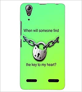 PrintDhaba Quote D-3917 Back Case Cover for LENOVO A6000 PLUS (Multi-Coloured)
