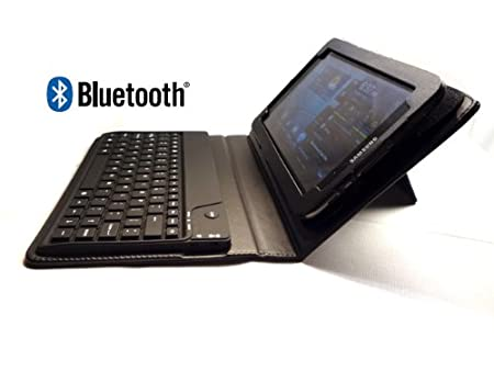 GSAstore ™ New Model Bluetooth ® Keyboard and Case for Samsung GALAXY Tab 2 (Model: P3113) - Color: Black