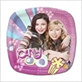 iCarly Small Pocket Paper Plates (8ct)