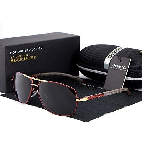 sunglasses reviews  HDCRAFTER Men\u0027s Polarized Driving Sunglasses Reviews