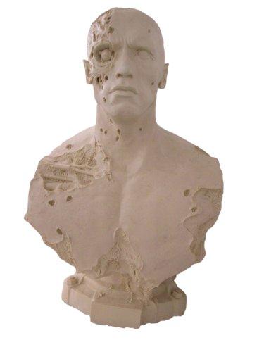 Arnold Schwarzenegger Terminator 2 T800 Bronze Bust