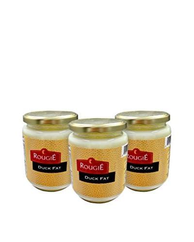 Rougié 3 Jars of Duck Fat, 11-Oz.