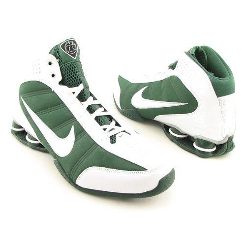 NIKE Shox Vision Basketball Shoes Green Womens SZ