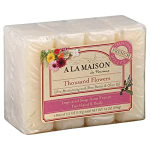 A la maison bar soap thousand flowers for A la maison soap review