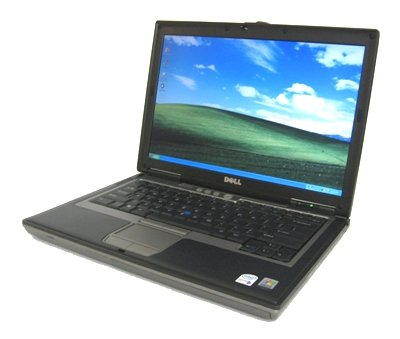 "DELL LATITUDE D620 CORE 2 DUO 1.66GHz 60GB 2GB DVDRW 14"" WIFI XP PRO"