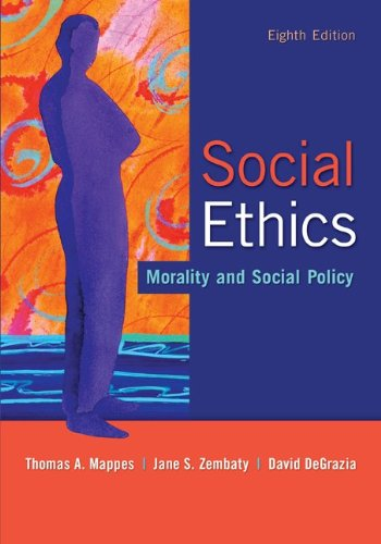Social Ethics: Morality and Social Policy