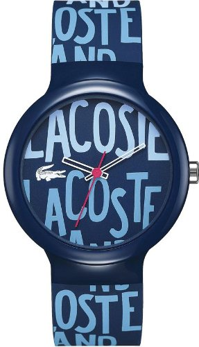 Lacoste Unisex Goa Silicone Navy Blue Watch #2020054