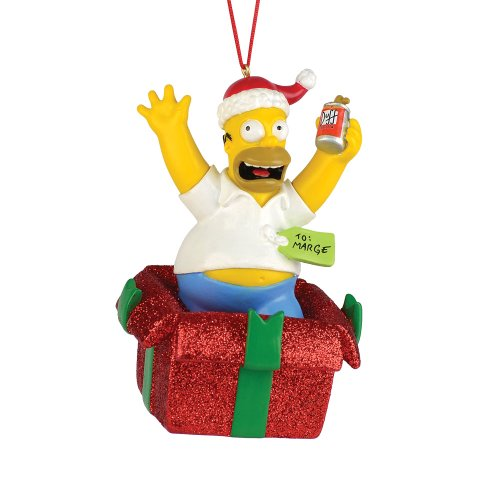 Department 56 The Simpson's from Homer in Gift Ornament
