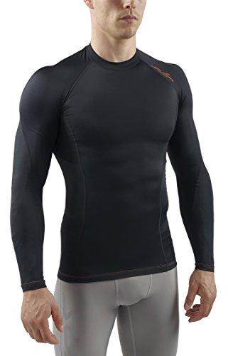 sub-sports-rx-t-shirt-de-compression-manches-longues-homme-noir-fr-s-taille-fabricant-s