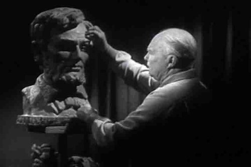 1954 Clay Sculpting History DVD: University of Southern California Sculptor Making a Sculpture of Abraham Lincoln's Face