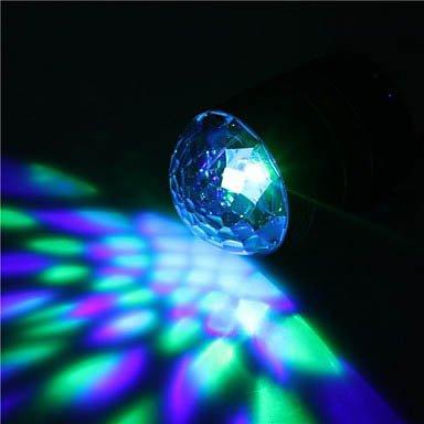 Blue Color F65 Fashion Led Lighting Portable Super Bass Speaker Tf Mp3 Aux