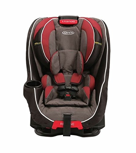 Graco Baby Head Wise Car Seat with Safety Surround Protection, Black/Red - 1