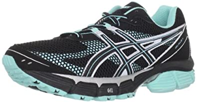 ASICS Women's Gel-Pulse 4 Running Shoe,Black/Onyx/Sea Foam,9.5 M US