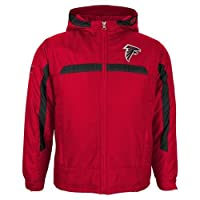Atlanta Falcons Youth NFL Midweight Hooded Jacket from Outerstuff