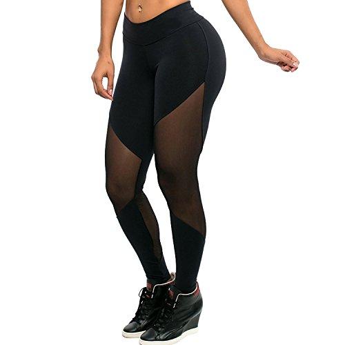 tulucky-womens-full-length-mesh-workout-sports-tights-gym-yoga-pants-leggings-m-black