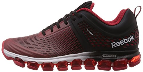 6a1ccd35bb2 Reebok Men s Reebok Zjet Run Irides Red Rush