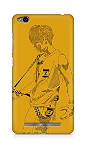 Amez designer printed 3d premium high quality back case cover for Xiaomi Redmi 3S (Romeo ze a minwoo)