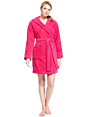 Hooded Cosy Dressing Gown