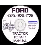 1984-1995 FORD 1320 1520 1720 TRACTOR Service Manual CD