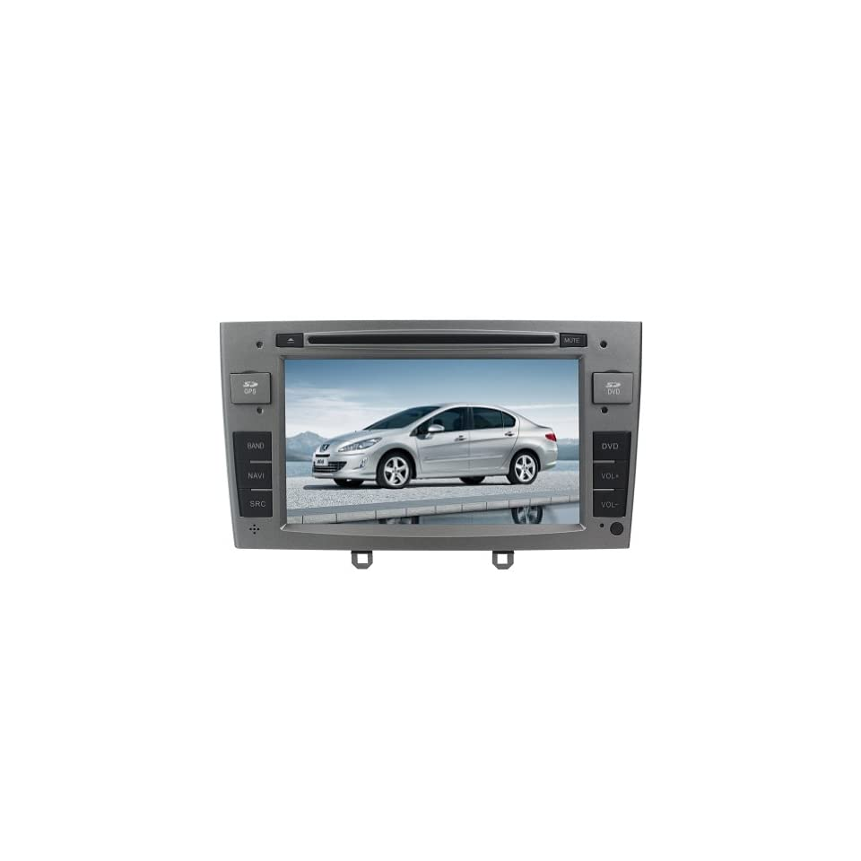 Tyso For Peugeot 408/308 7 CAR DVD Player GPS Navigation Navi iPod Bluetooth TV Radio FM Free Map CD8983