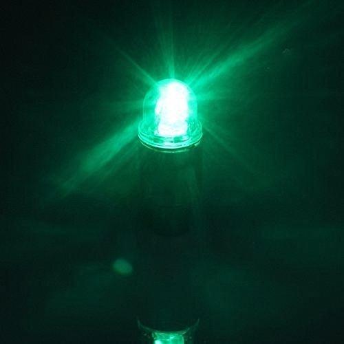 2X Wheel Led Light Battery Automatic Sensor Bike Green