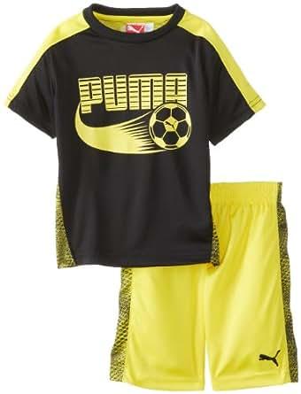 Amazon PUMA Little Boys Toddler Soccer Set Black