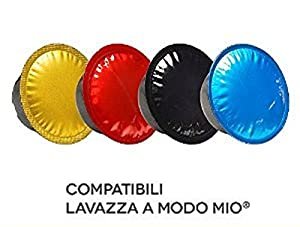 100 Lavazza A MODO MIO 100% Compatible Coffee Capsules Pods Made in Italy Fast Shipping.