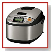 Zojirushi NS-LAC05XT 3-Cup Rice Cooker and Warmer, Stainless