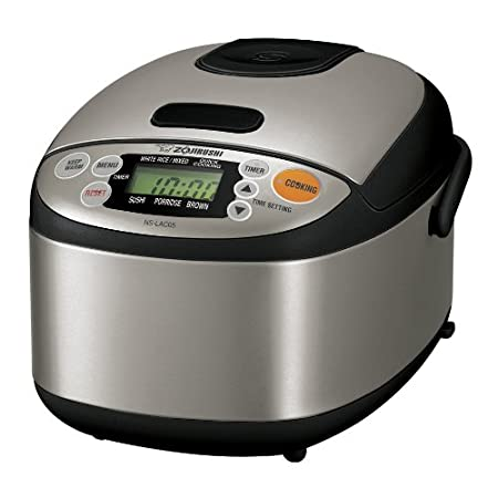 Zojirushi rice cooker - seriously makes the best rice ever!