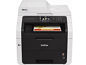 Brother Wireless All-In-One Color Printer with Scanner, Copier and Fax (MFC9330CDW)