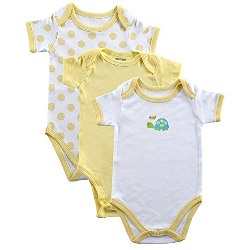 Solid Color Baby Onesies front-1035191