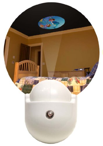 Good Choice 423 Under The Sea Ceiling Projection Led Night Light, White