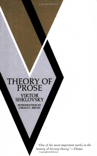 Theory of Prose