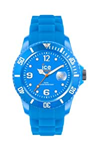 Ice-Watch Damen - Armbanduhr Ice Flashy Analog Quarz Silikon SS.NBE.S.S.12