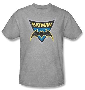 Amazon.com: Batman Kids T-Shirts - Batman Shield Youth Athletic ...
