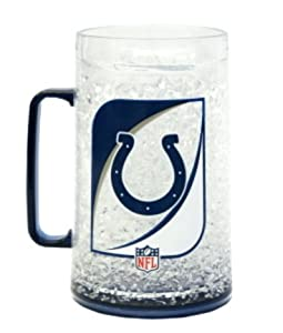 NFL Indianapolis Colts 36-Ounce Crystal Freezer Monster Mug by Duck House