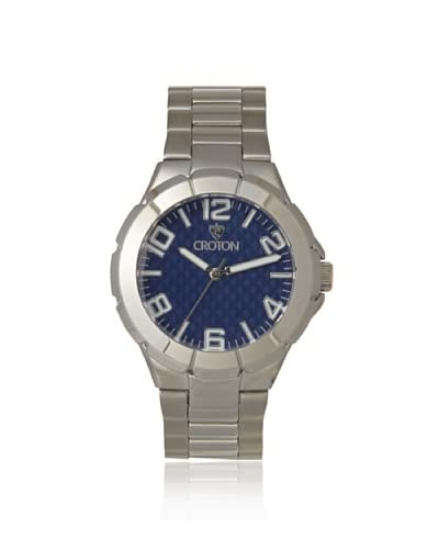 Croton Men's CROTON-CN207382RHBL Blue Textured Dial Watch