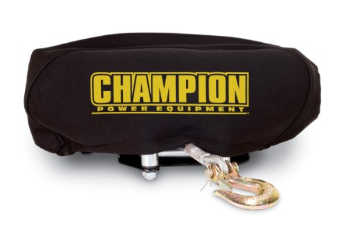 Cheapest Prices! Champion Power Equipment 18032 Neoprene Winch Cover