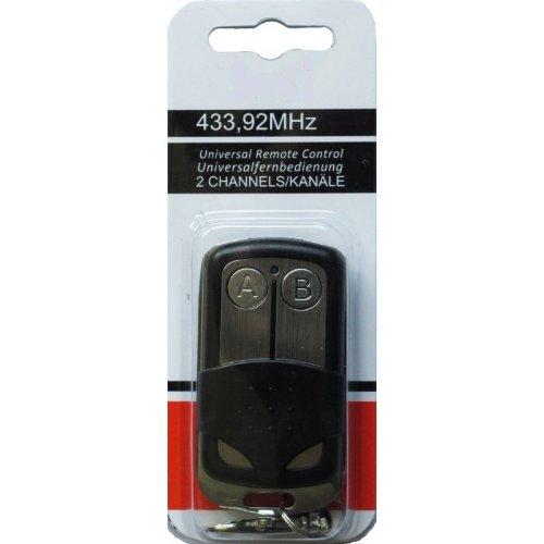 Ersatz Handsender kompatibel zu Teleco Tormatic DormaTedsen Garagentor 433MHz