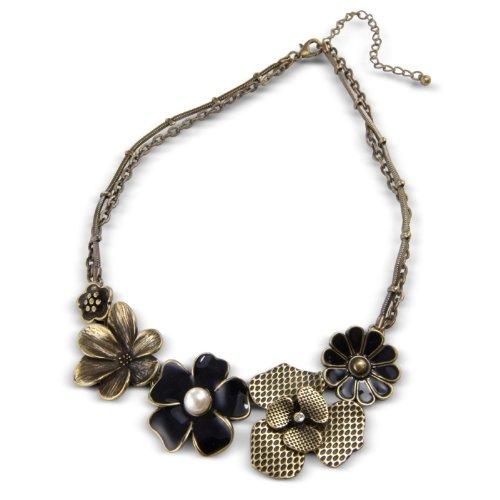 Stylish Vintage Flower Necklace - Excellent quality