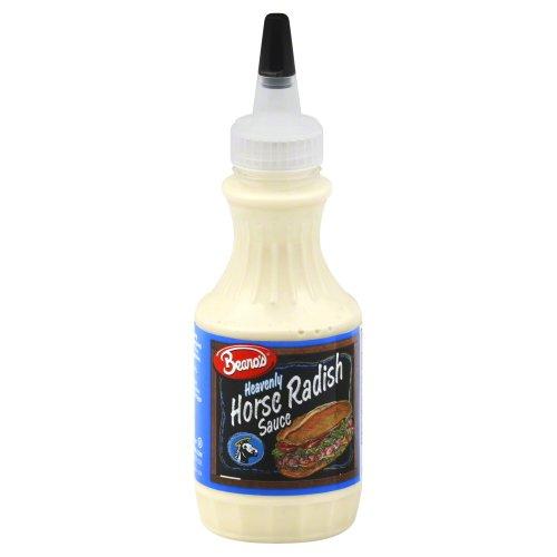 Beanos Horseradish Sauce 8.0 OZ (Pack of 3)