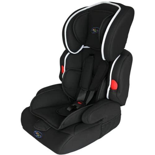 Bebe Style Deluxe Group 1 2 3 Childs Car and Booster Seat (Jet Black)