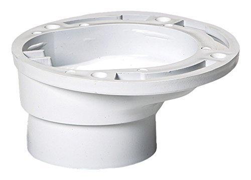 plastic oddities offset toilet flange pof100 repairs toilet too close too far ebay. Black Bedroom Furniture Sets. Home Design Ideas